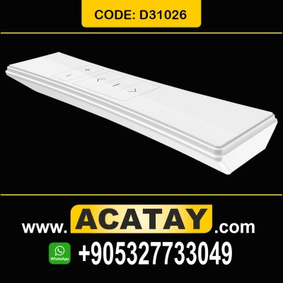 D31026, Led Screen, 9 Channels, White Transmitter