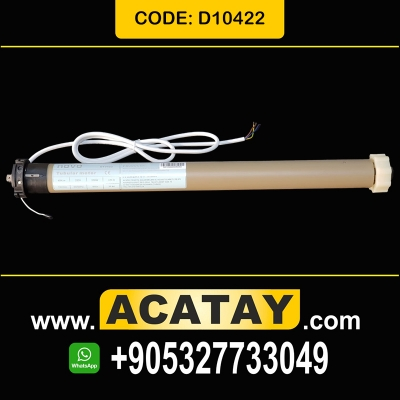 40 Nm, 18 r/min, D10422, Tubular Motor for Roller Blinds In – Built Receiver and Electronic Localizer