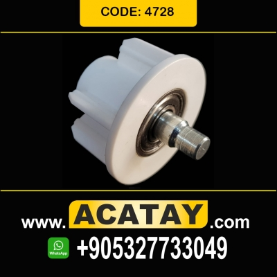 47 mm End Plug with Bearing